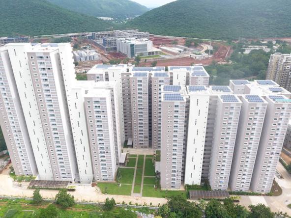 Gated community flats in vijayawada